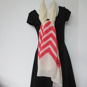 MARC By Marc Jacobs Scarf Limited Cotton Cream